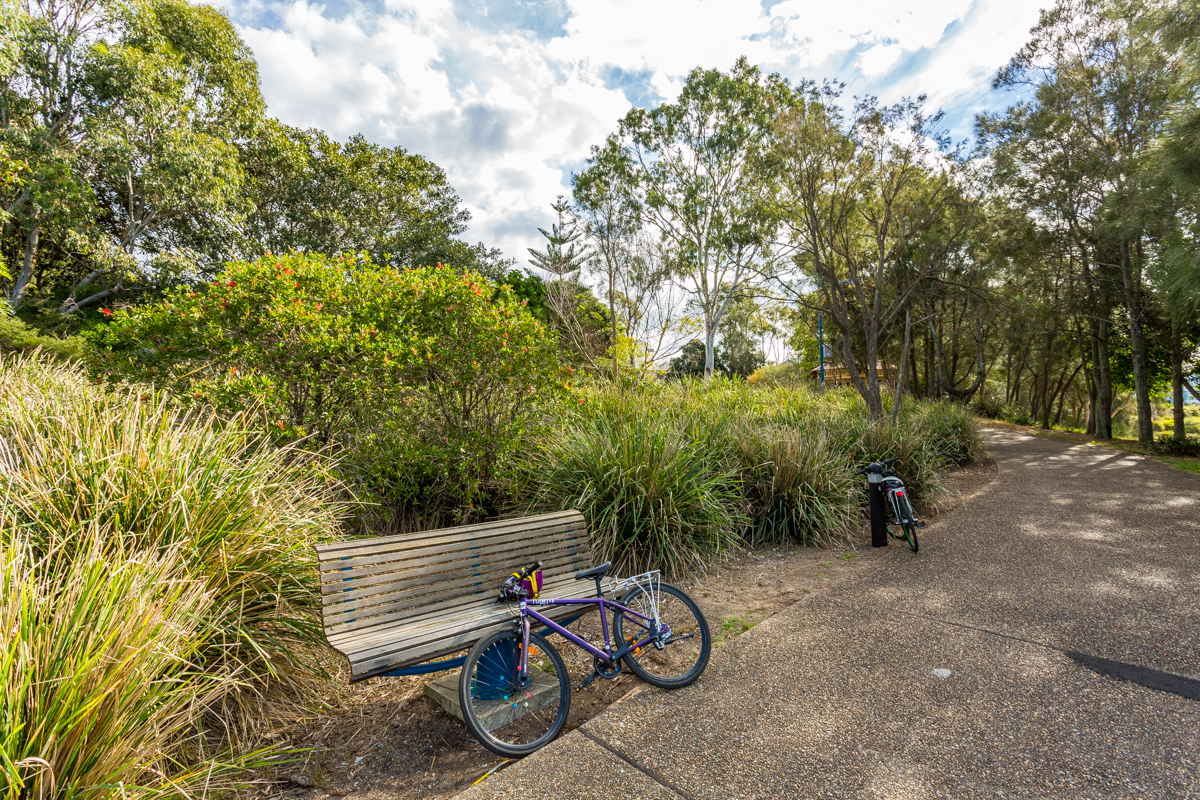 Cycling Path at Harmony Point, Cabarita