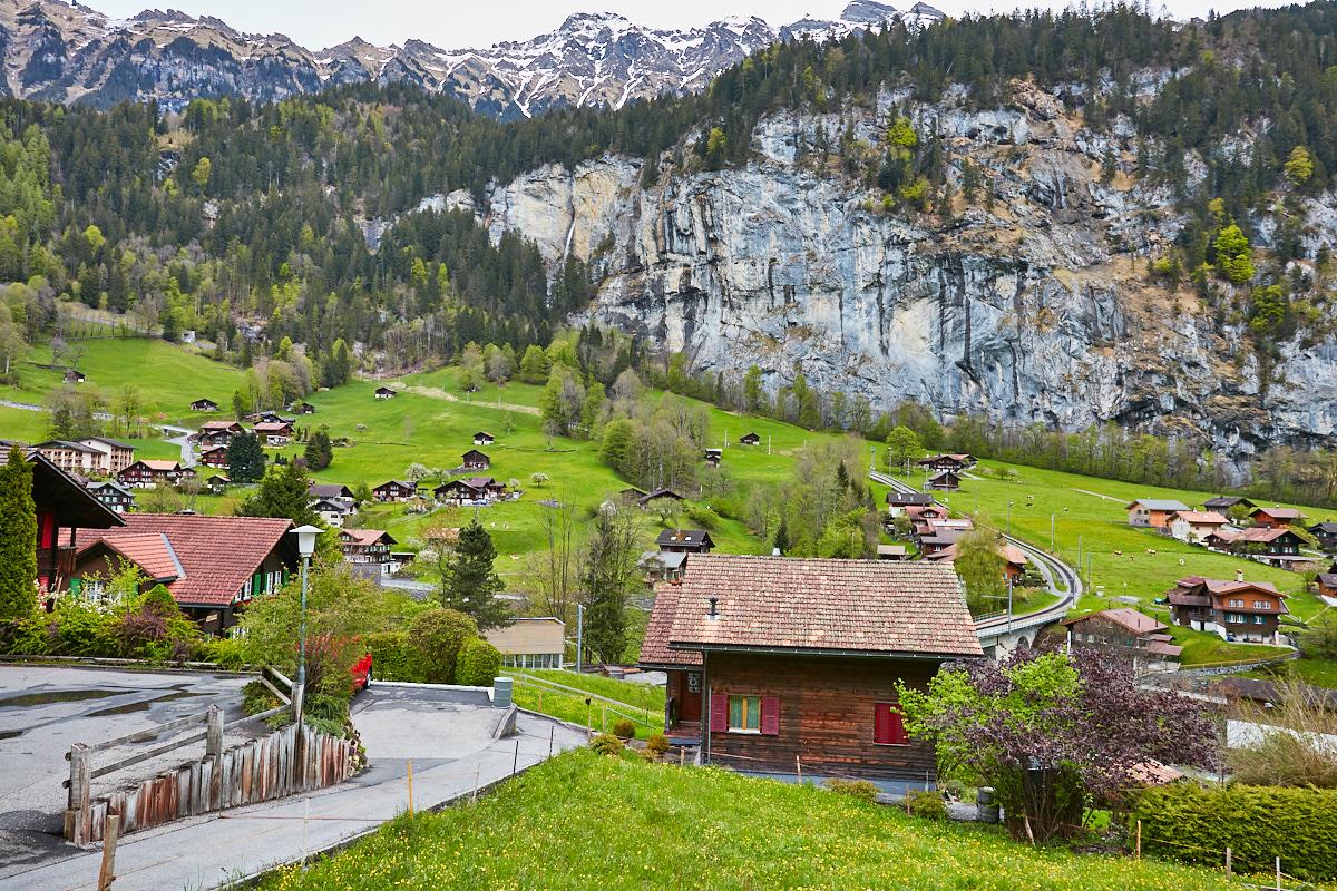 Idyllic Charm of Jungfrau Region, Lauterbrunnen, Switzerland