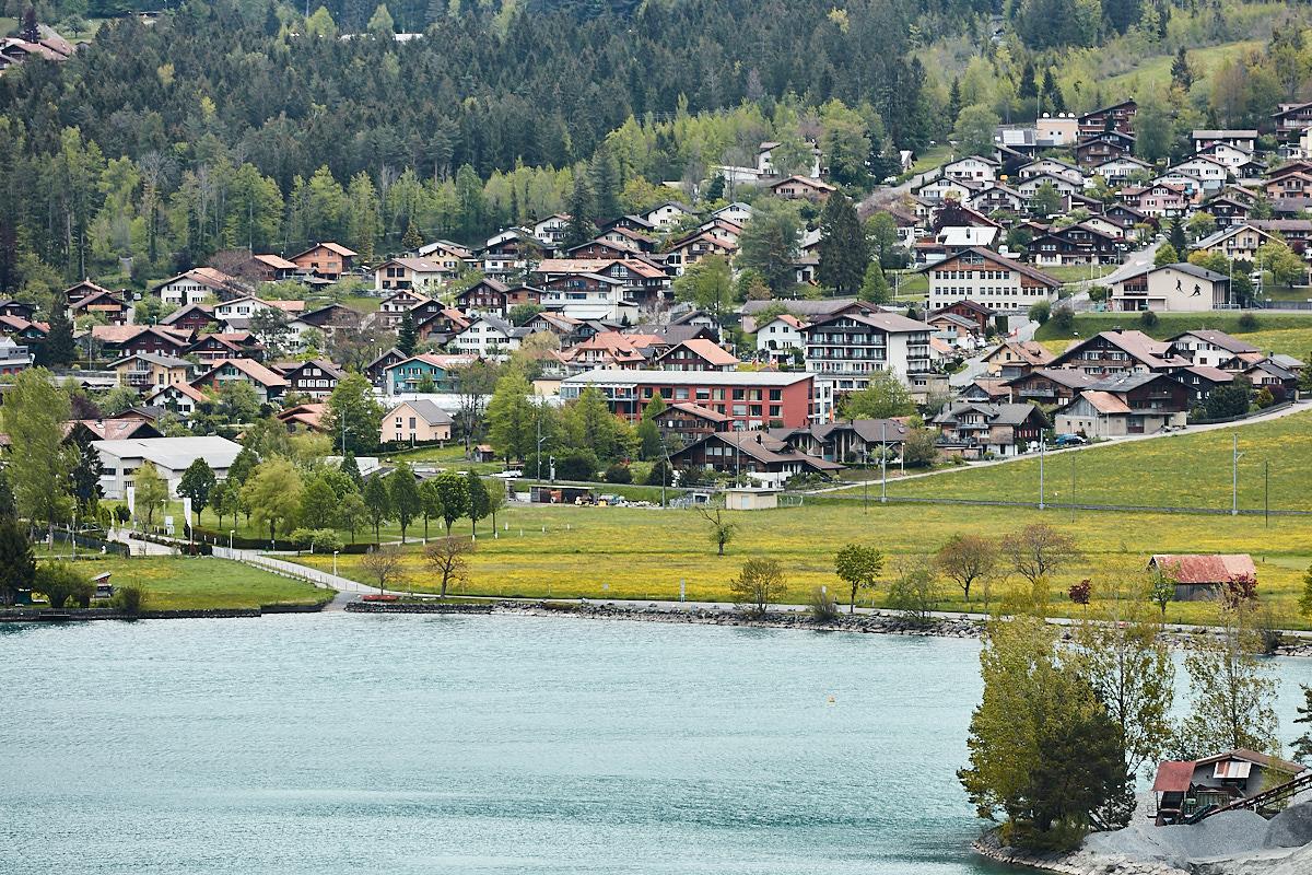 Lakeside village at Brienz