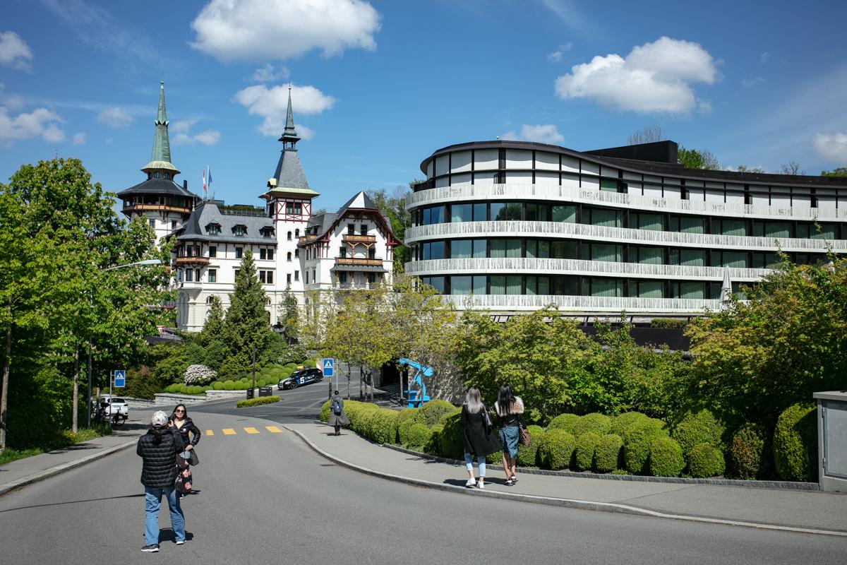 The Dolder Grand hotel, Elite Luxury, Zurich