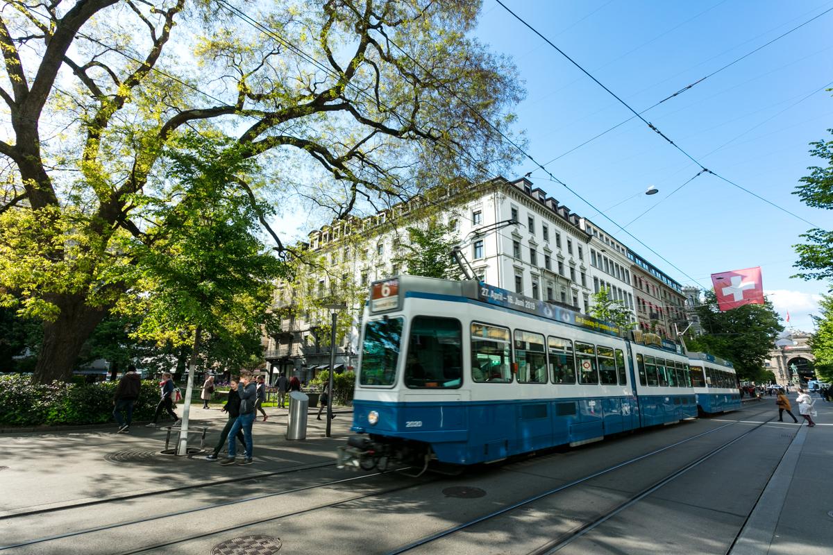 High Street Shopping at Bahnoffstrasse, Zurich