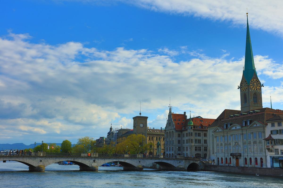 Zurich Old Town scene
