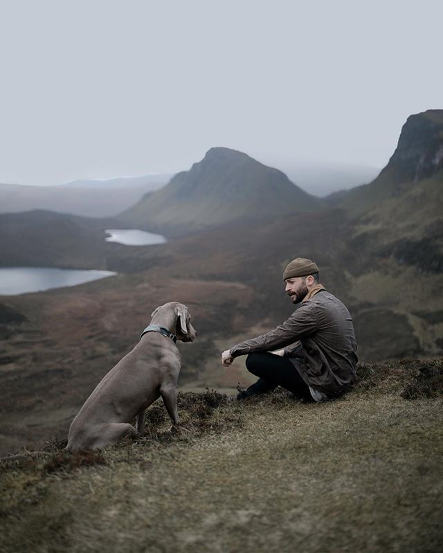 The moments we share... It's the smallest things, the moments that we share as we travel and explore, the emotion in the experience that creates the meaning... Quiraing, Isle of Skye, Scotland. @taylorstitch