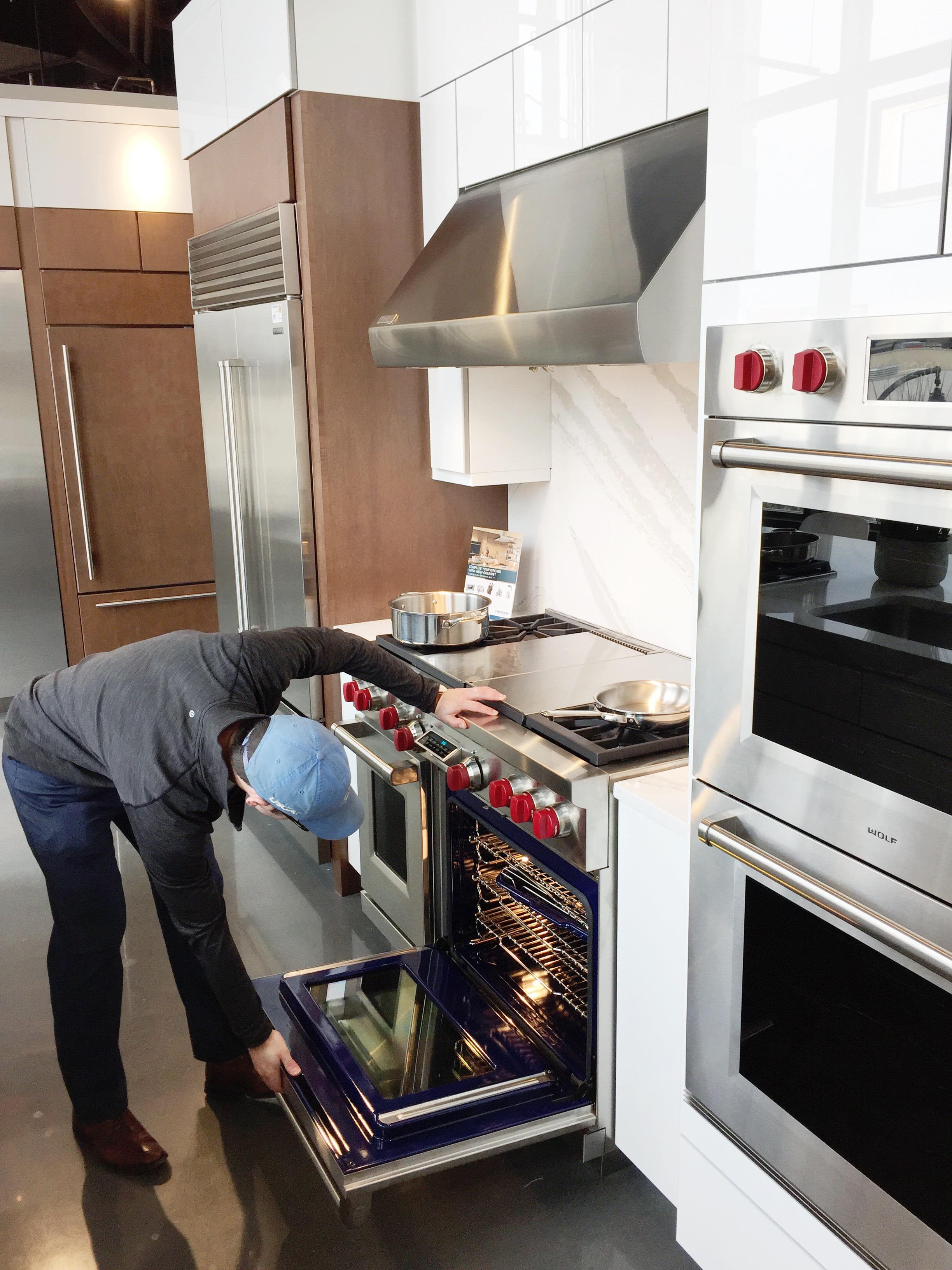 standalone range stove