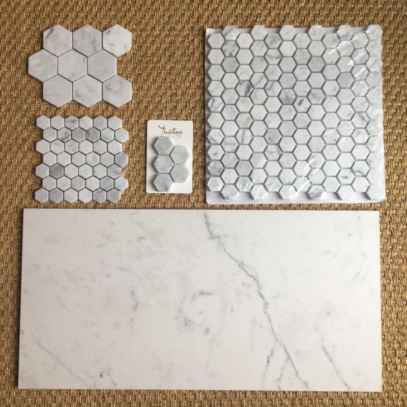 Master Bath Inspiration, White Marble