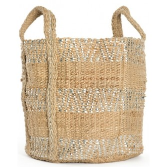 SAVANNAH JUTE BASKET - Sold By Lulu & Georgia