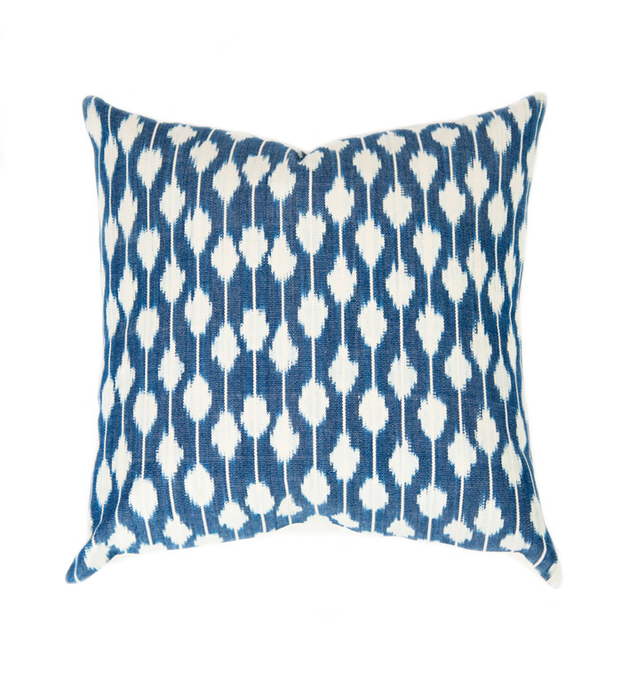 ikat pillow - sold by Blue Door Living
