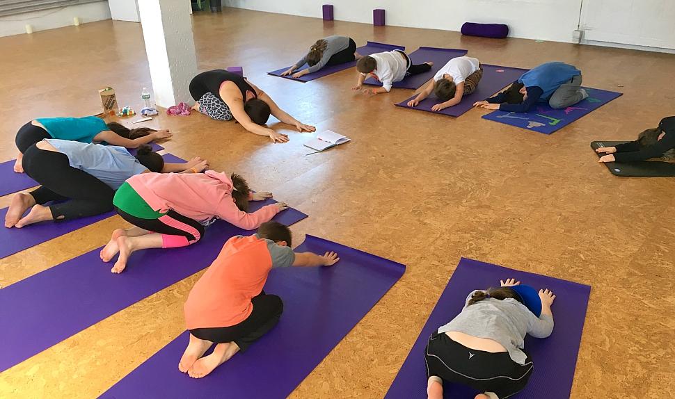 Kids Yoga Playful Yogi Space