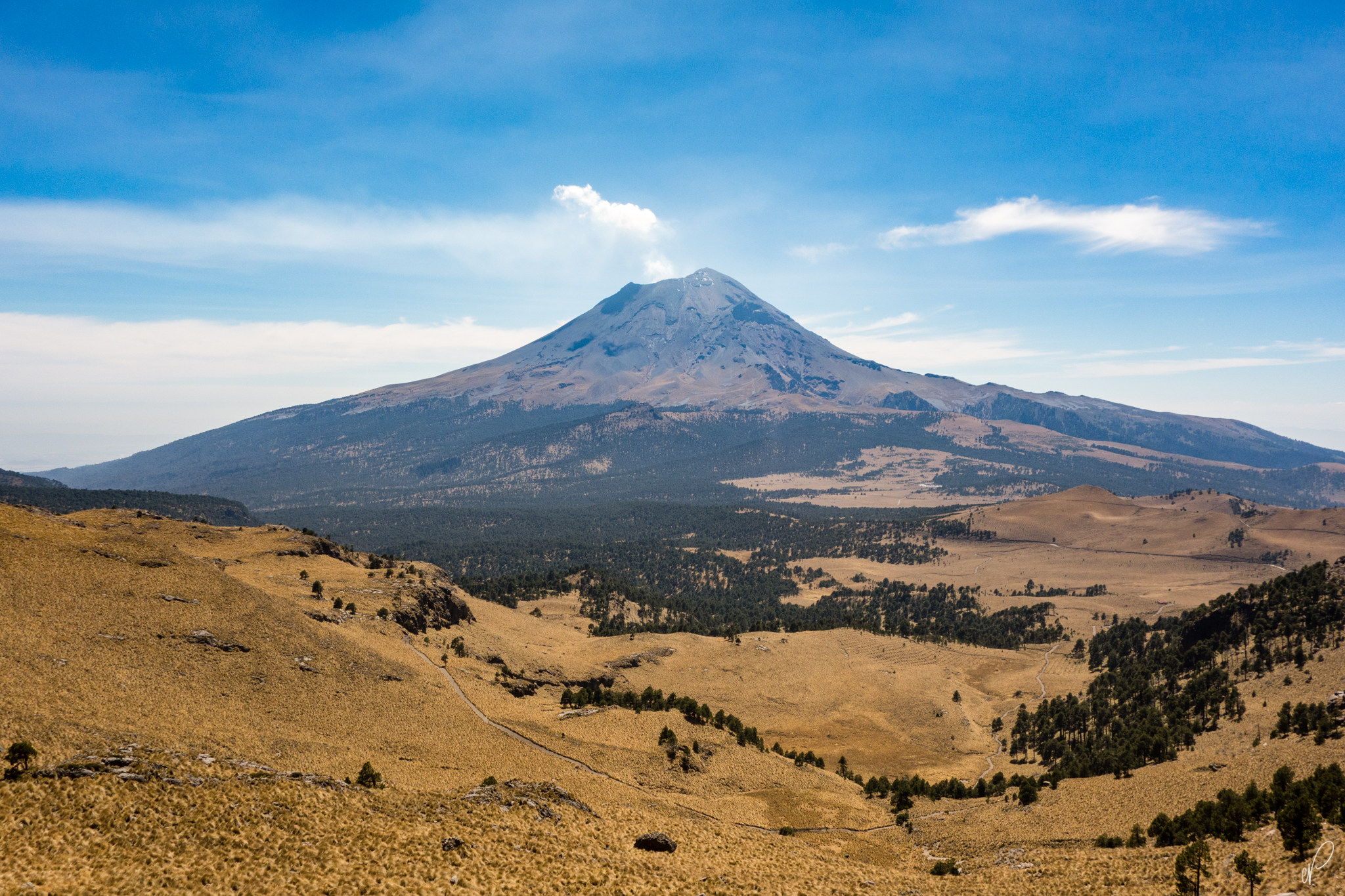 Popocatepetl in all it's glory