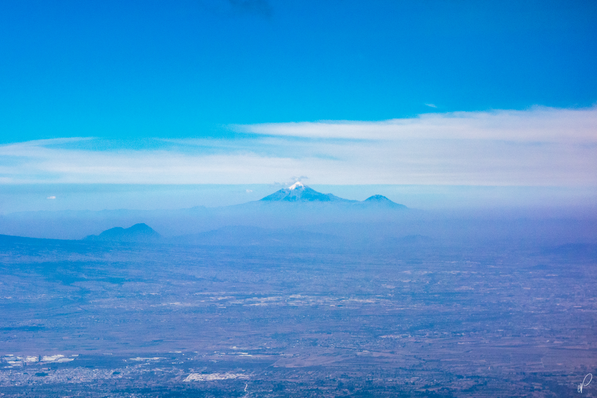 Pico De Orizaba doesn't seem so far.