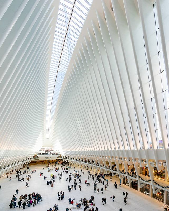 An ovation for #calatrava 🙏... #oculus #hyperwide