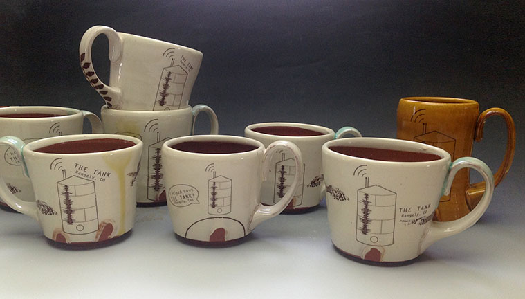Tank mug Kickstarter perks, 2013