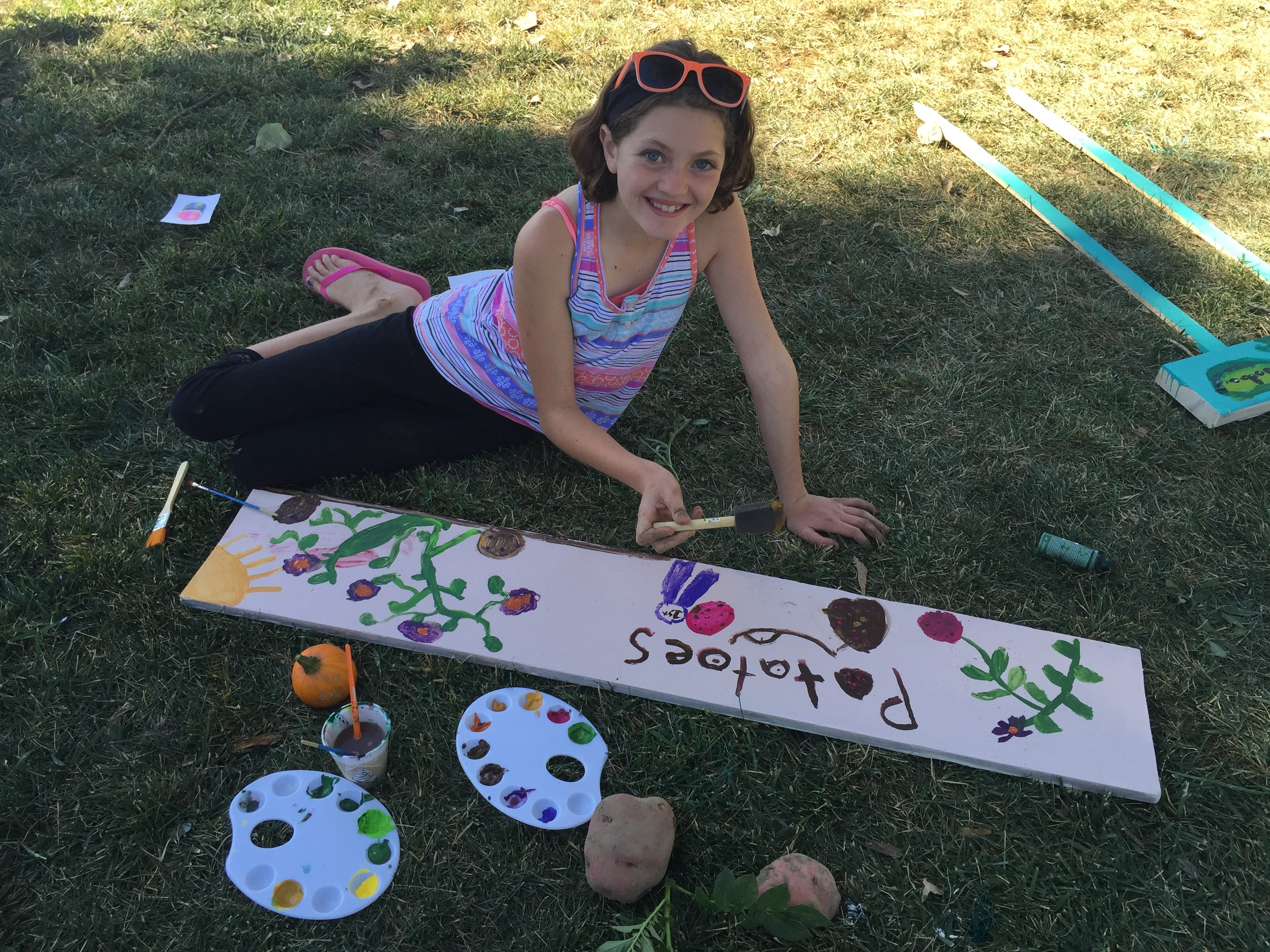 Garden Club Sign Painting 2015-09-25 053.JPG