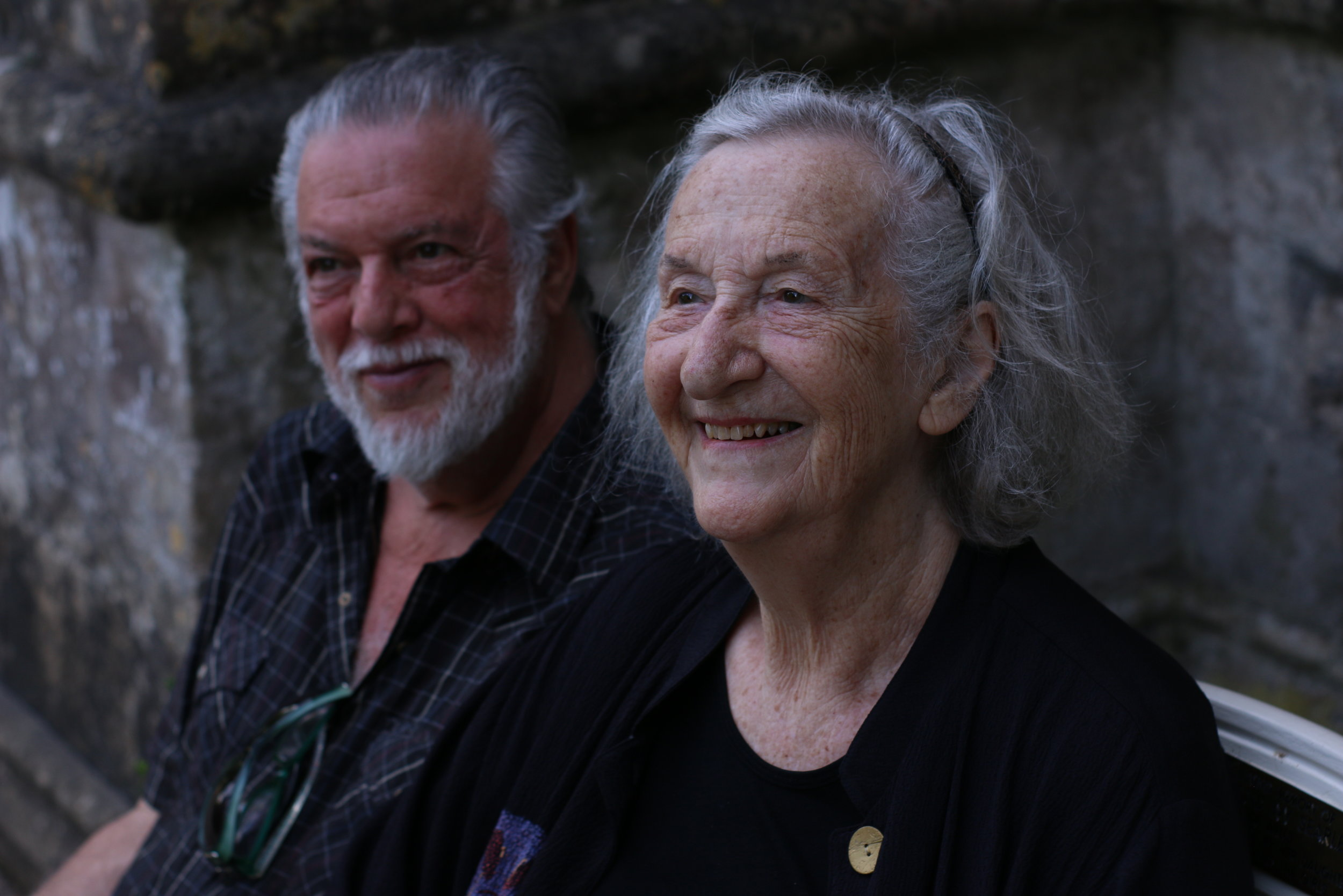 Thea Musgrave & Peter Mark (2018) Wells Cathedral. Photo by Thomas Le Brocq