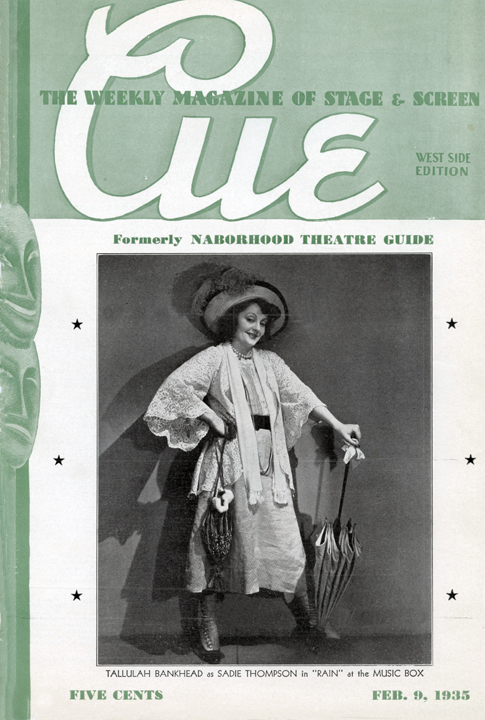 CUE February 9, 1935
