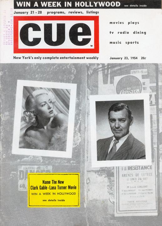 CUE January 23, 1954