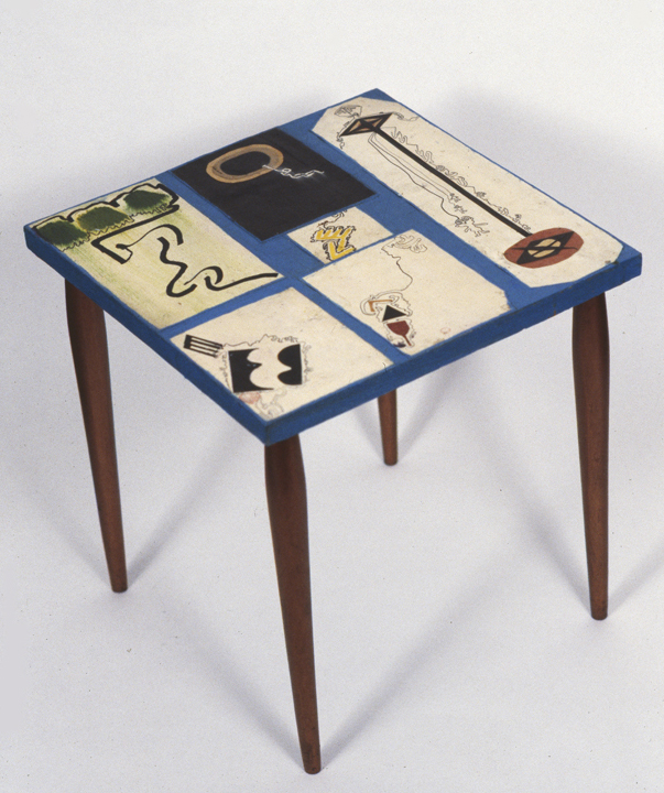 CUT-OUT TABLE