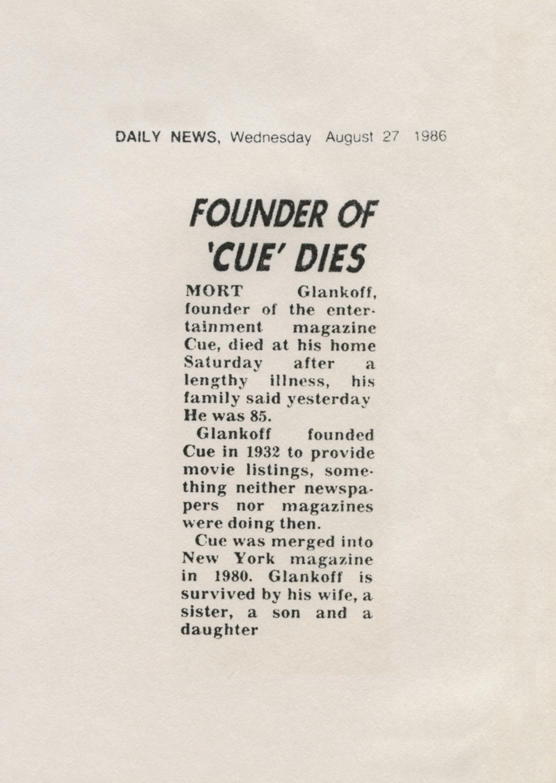 Mort Glankoff Obit New York Daily News.jpg