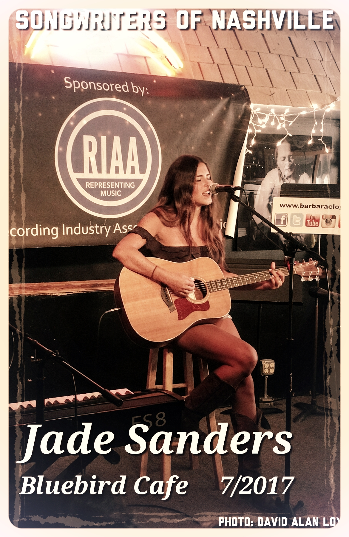 - Jade performed for the first time at the Bluebird in Nashville! 7/2017
