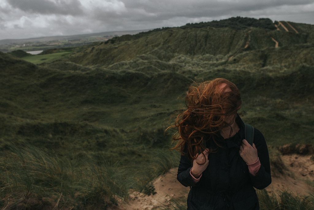 Living my best life. By far I am at my happiest when I'm exploring Ireland's epic coastline with the wind in my hair.