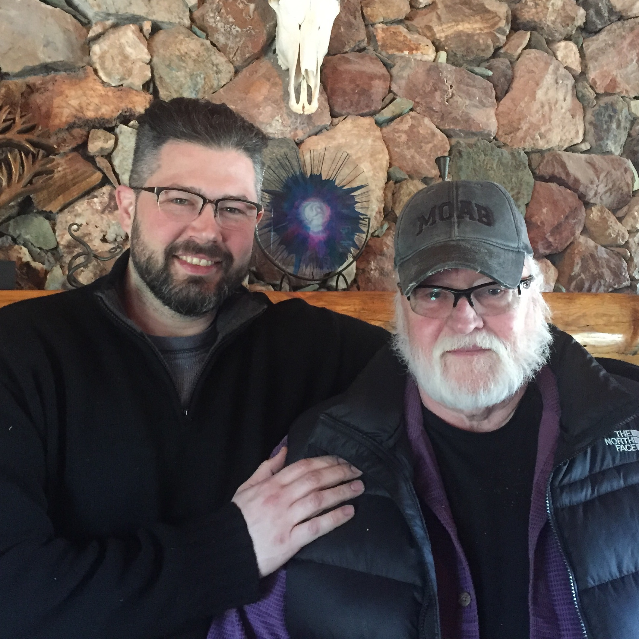 Jamie with John F. Barnes, PT