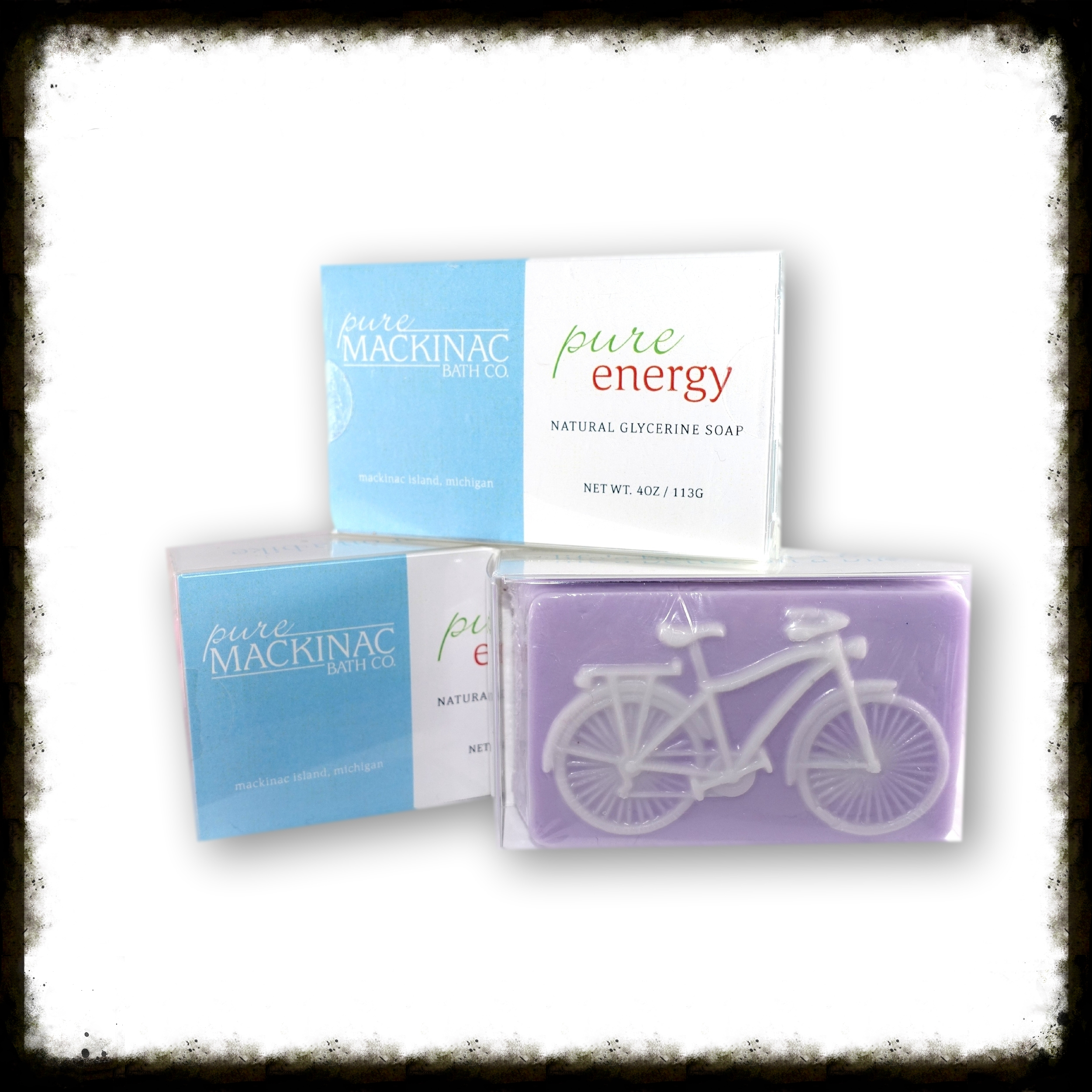 Glycerin & Shea Butter Bicycle Soap