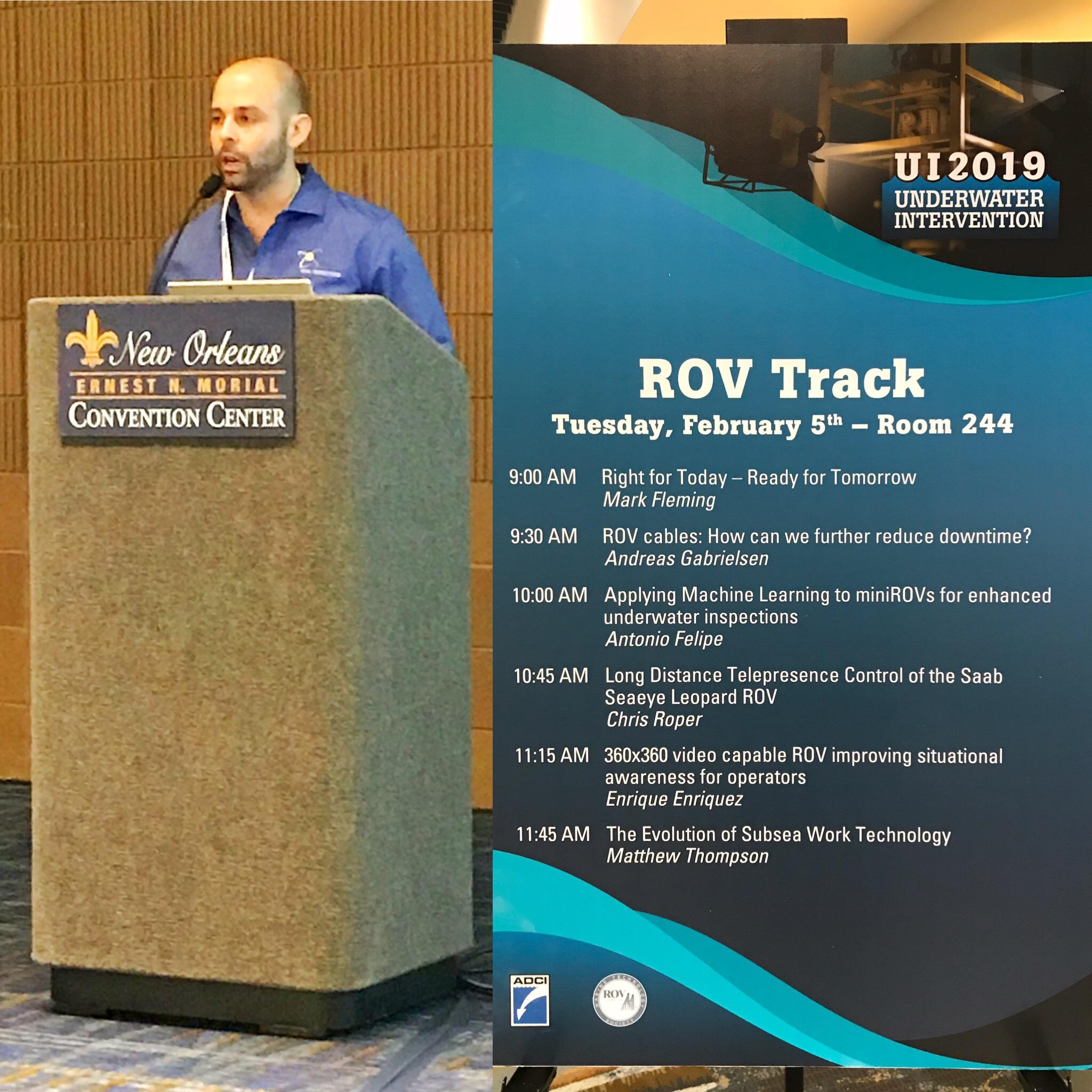 SWL Robotics, Inc - Featured ROV speaker at UI2019