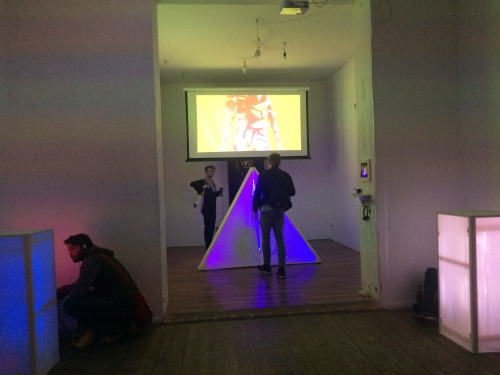 IDRBAGTAC Exhibition and Festival Opening, 8th May 2015, Berlin, Germany.