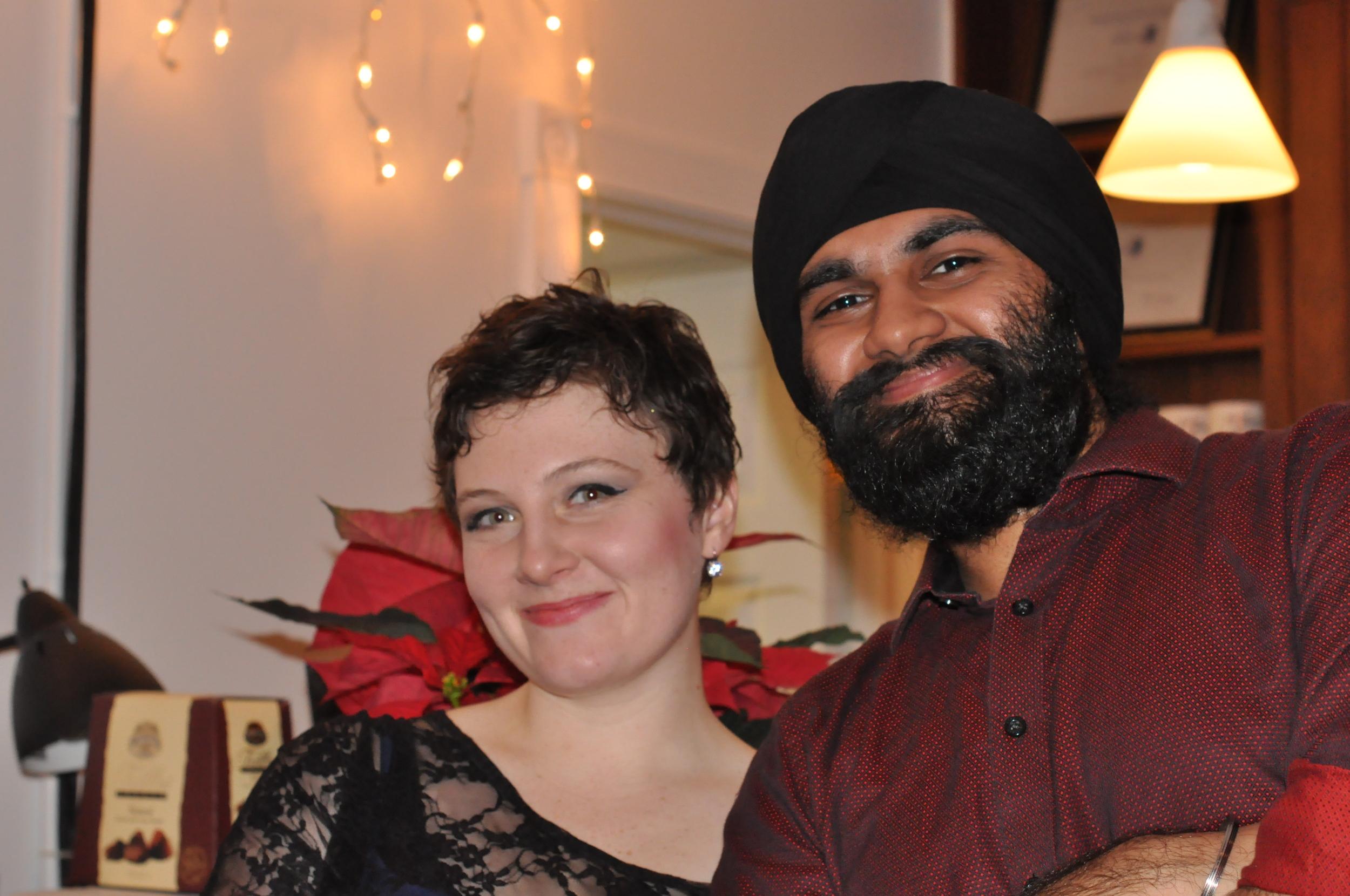 2010 12-11Navneet & Hazel.jpg
