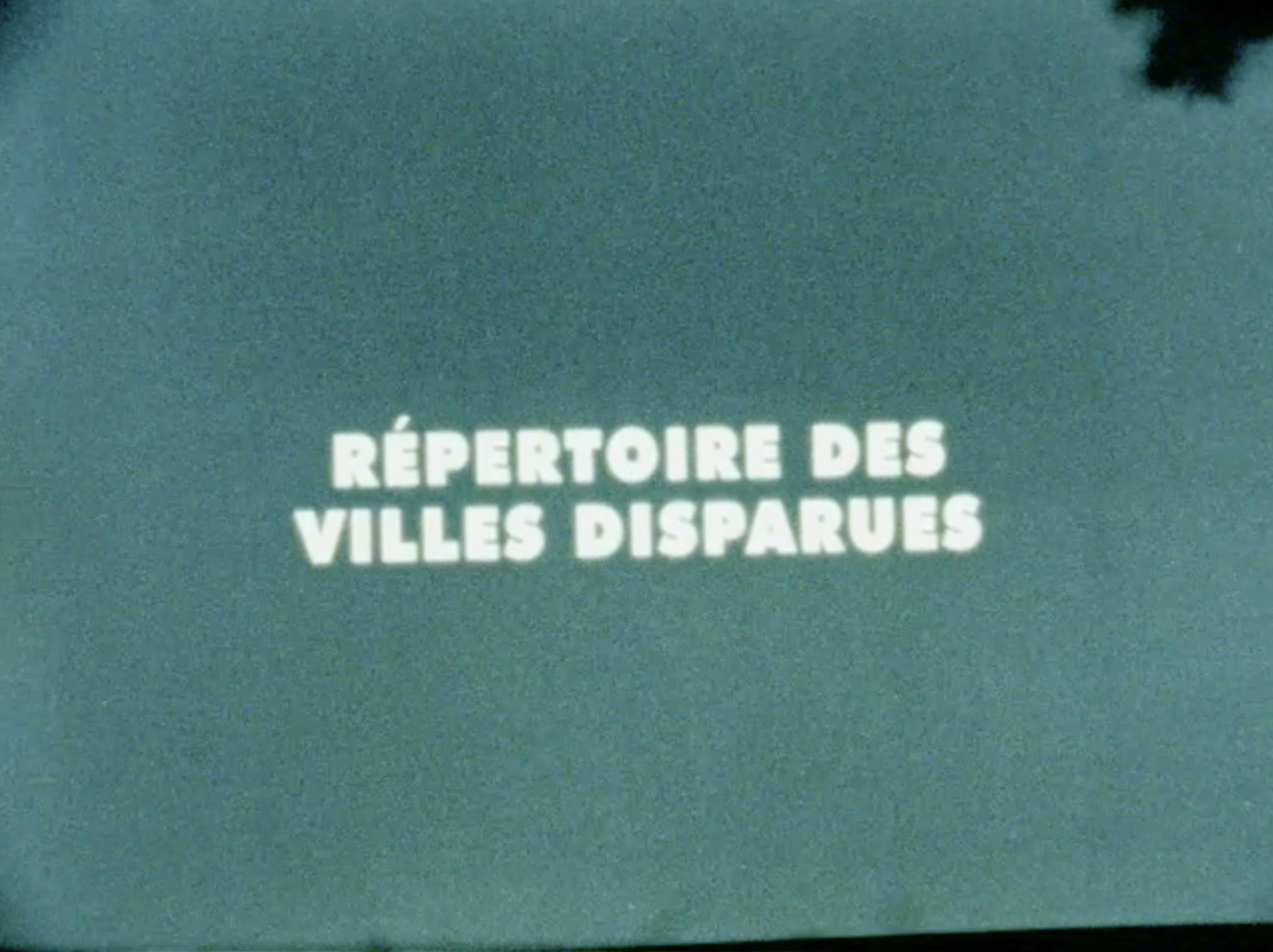 Making Of - RÉPERTOIRE DES VILLES DISPARUES - 2019   4m   Live Action TeasersOn the set of Ghost Town Anthology, a film by Denis Côté. Documented in Super 8 by Matthew Rankin (filming/editing) and Sacha Ratcliffe (sound recording/sound design).Produced by Couzin Films.Distributed by Maison4tiers.