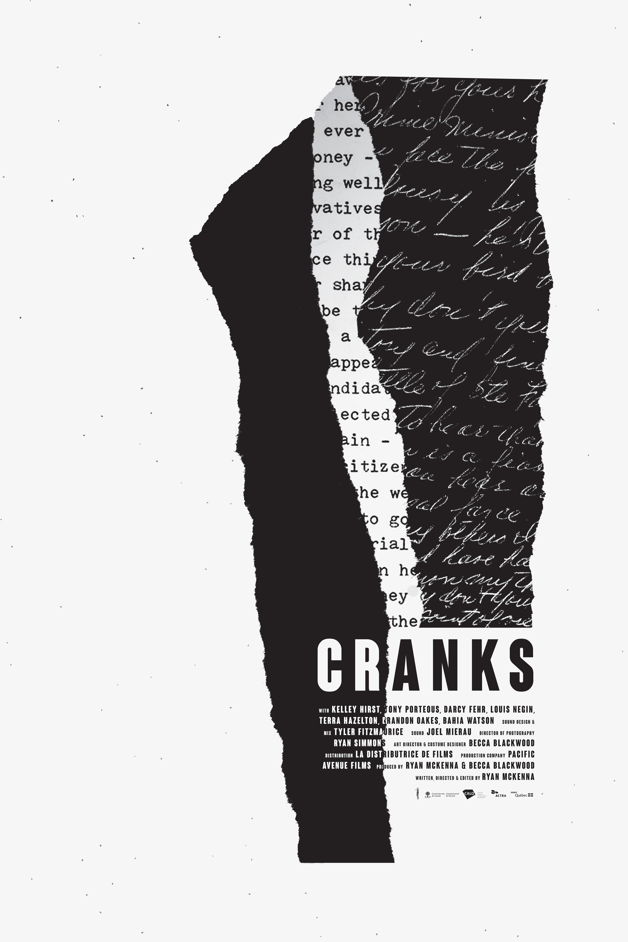Cranks Official Poster #1 - white
