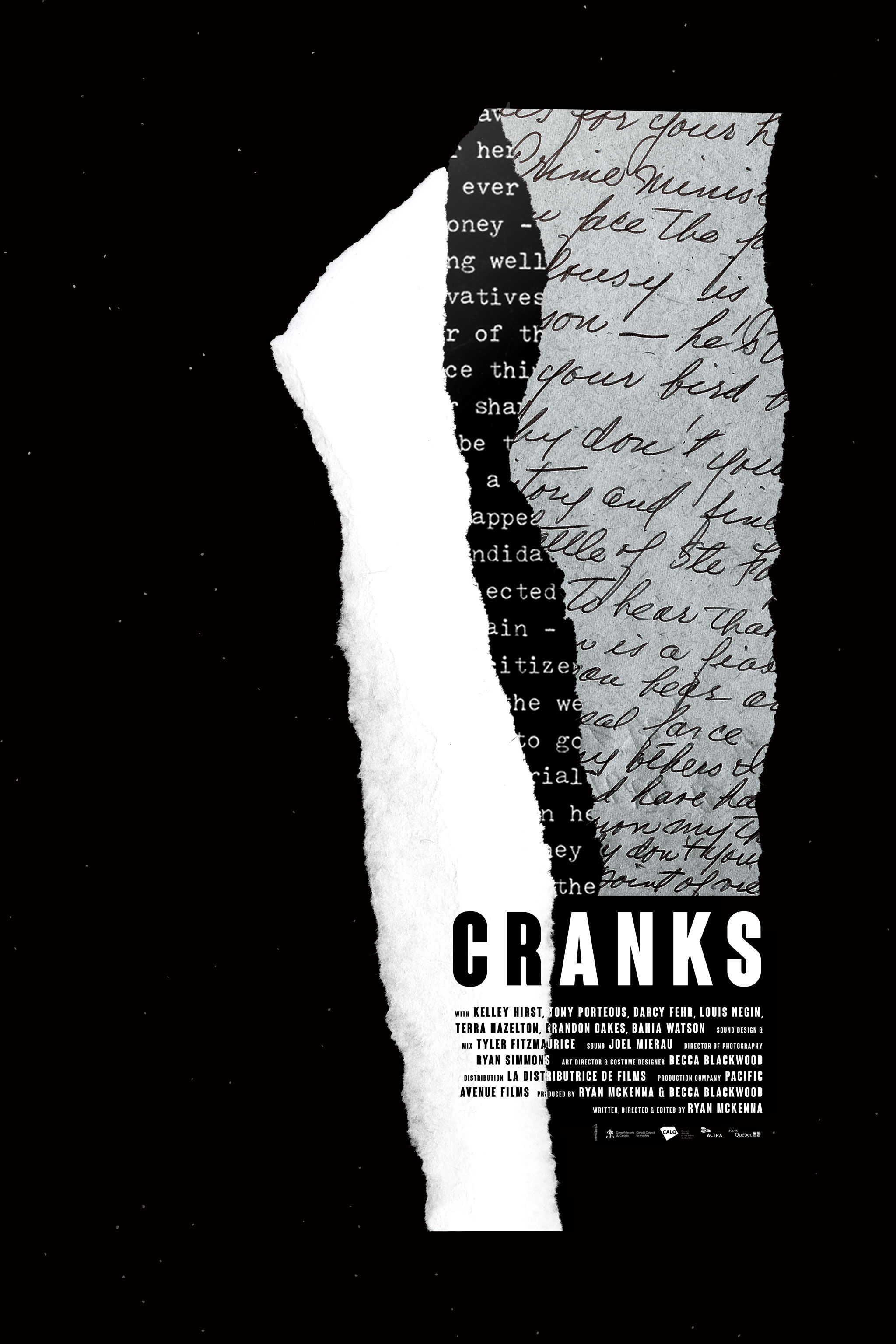 Cranks Official Poster #1 - black
