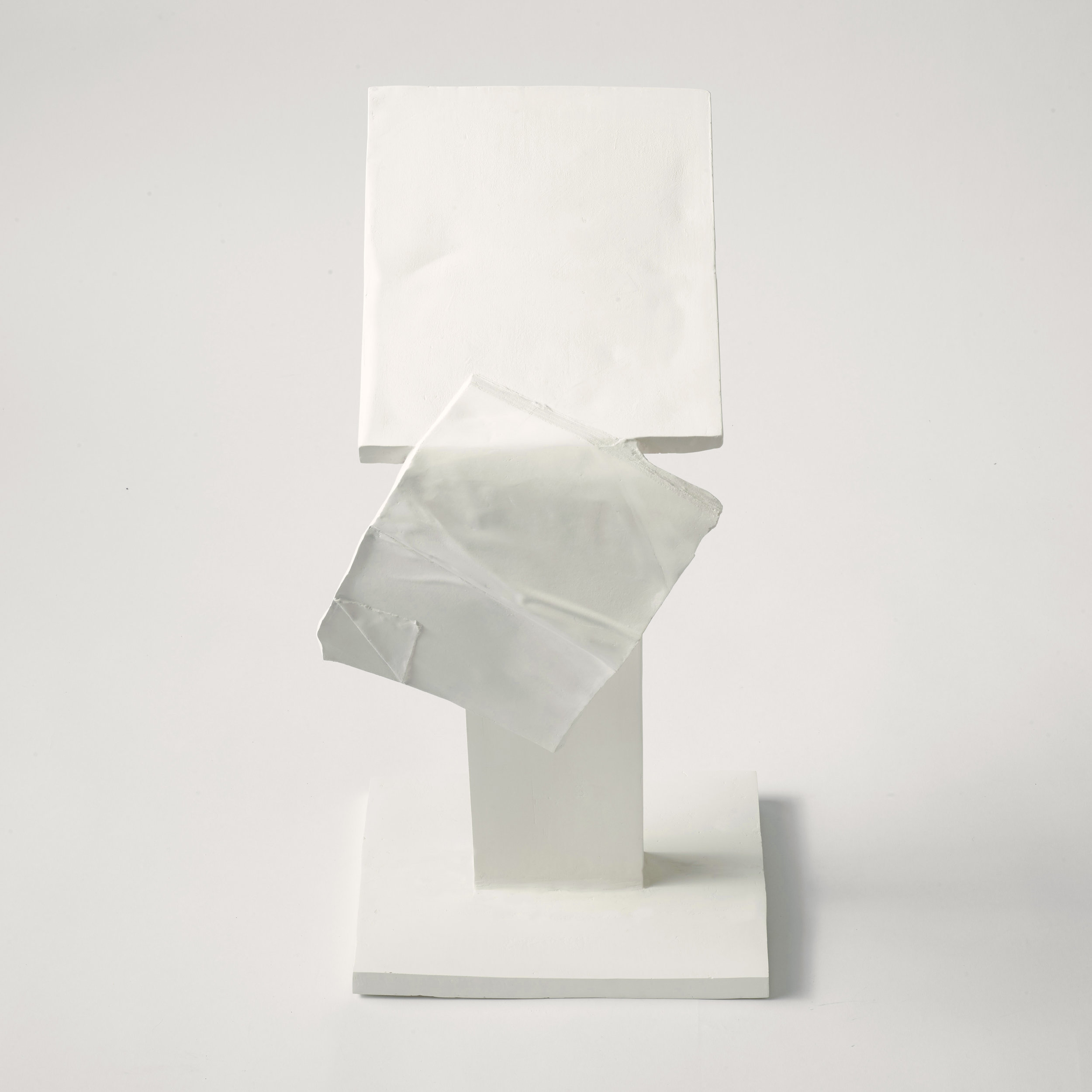 Lectern,  2019, cast stoneware, wax, 11x22x8.5 inches