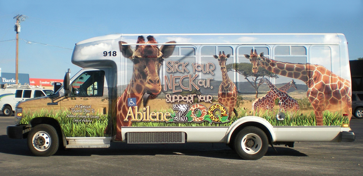 Bronze Winner-Bus Wrap