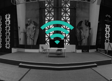 High-speed Wi-Fi throughout building