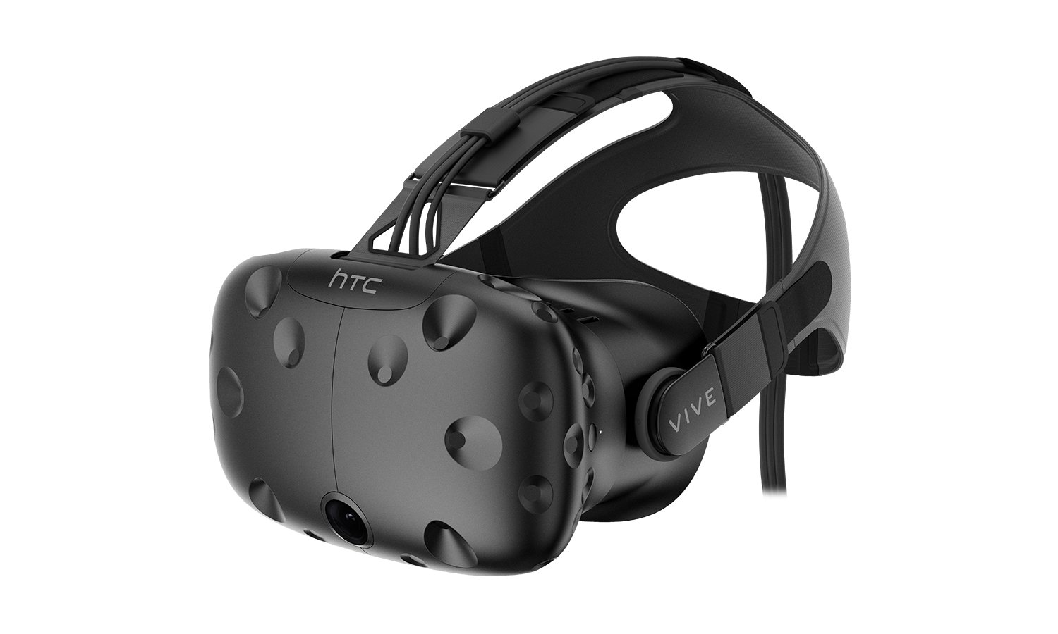 An HTC Vive Virtual Reality headset