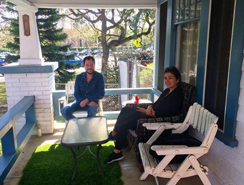 Porch discussions with Loreto & Federico of Etcetera - Argentinian art collective and activists. More at  https://grupoetcetera.wordpress.com