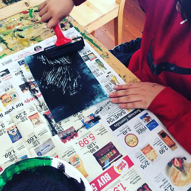 #brayer skillz in today's #thursdayartworkshop
