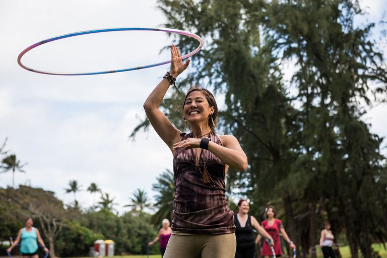 Jinju teaching at Wanderlust O'ahu 2016, photo by Ali Kaukas for Wanderlust Festival