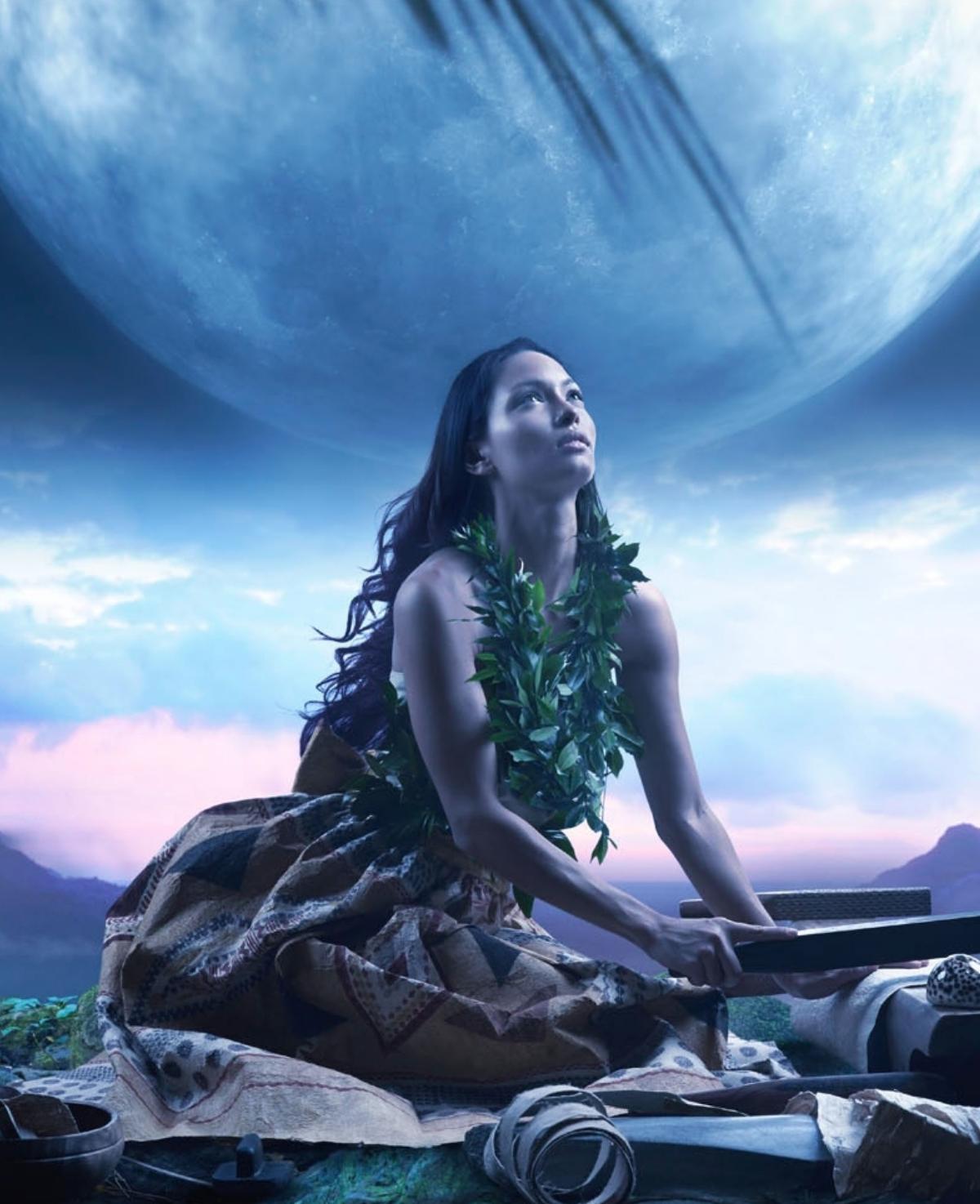 (Photo: * Hina, Hawaiian Moon Goddess  -  www.hawaiiancient.com )