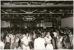 Crowded dance floor, 1976