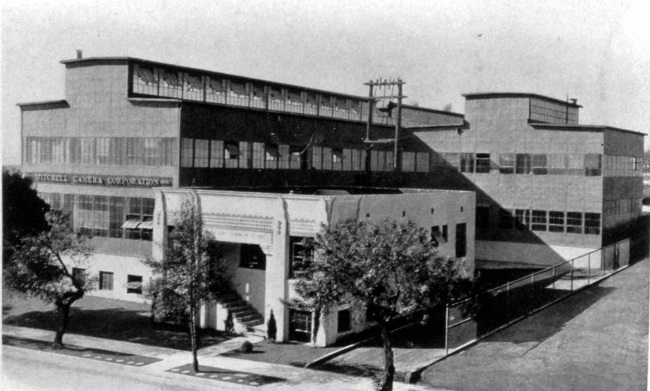 Mitchell Camera factory and offices, 1929