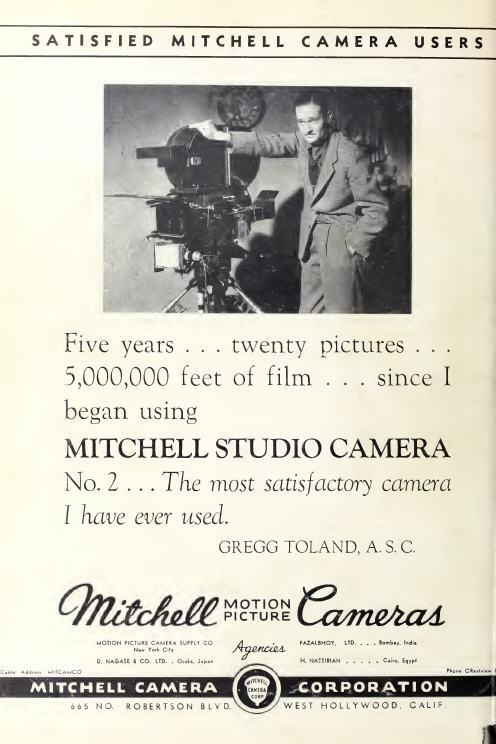 Mitchell Camera, circa 1936