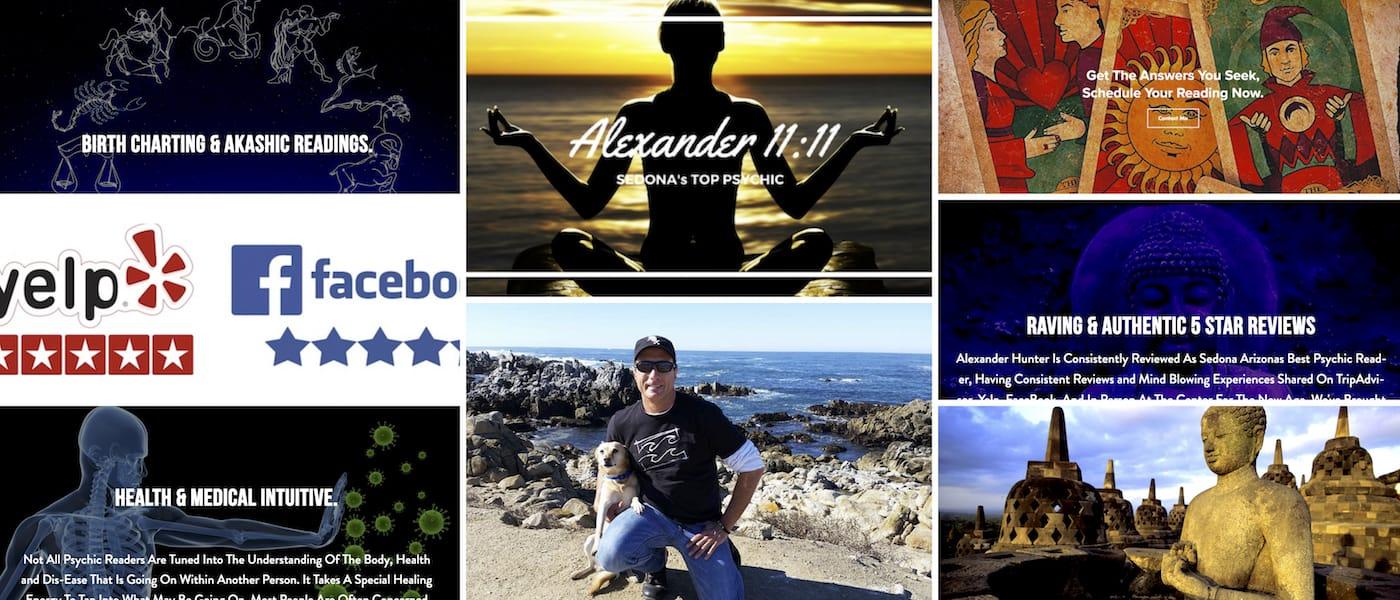 Alexander1111.com, concept, brand design, strategy, web design, content writing, by Brandon Mushlin Creative @ BrandonMushlin.com