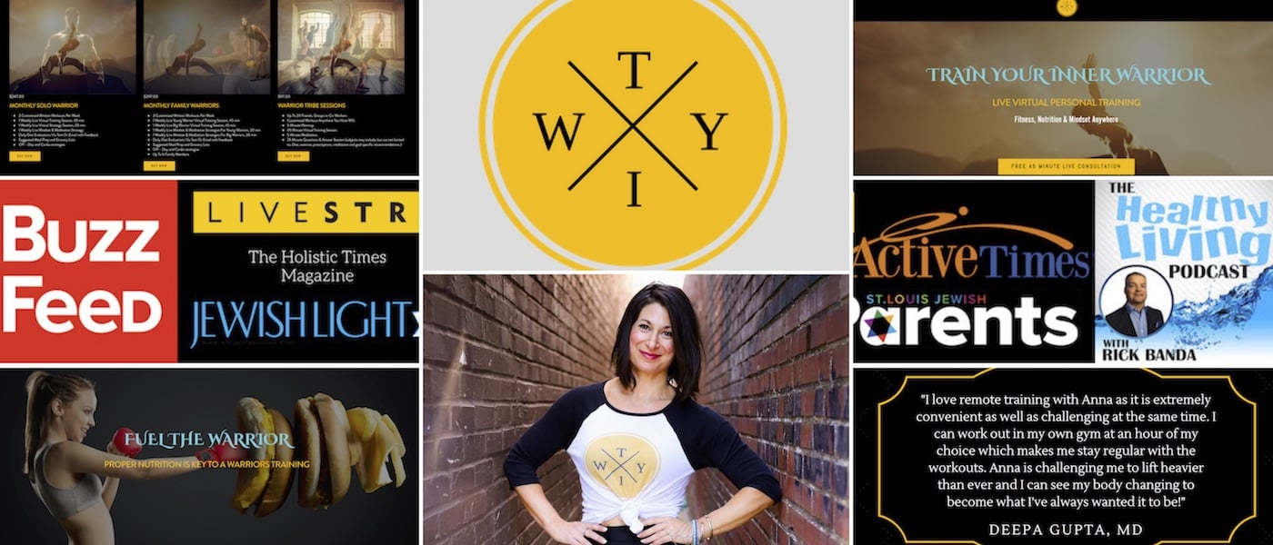 Train Your Inner Warrior Brand, Concept, Design, Creation, & Strategy, By Brandon Mushlin Creative @ BrandonMushlin.com