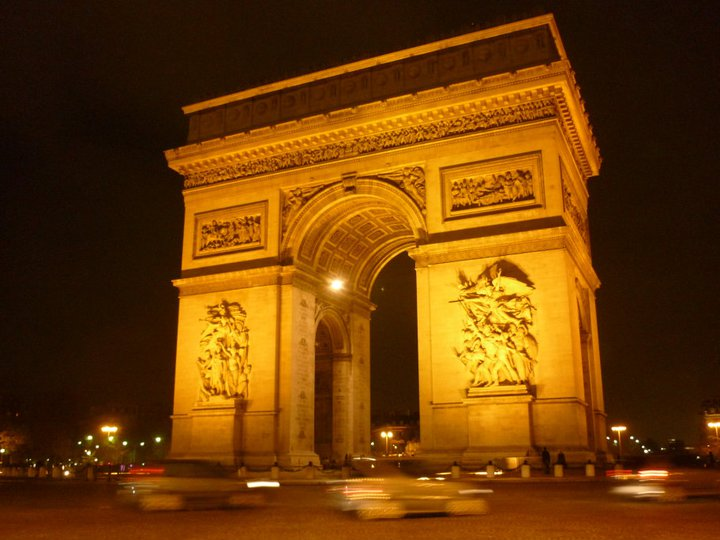 arc de triomphe Learn French in Paris