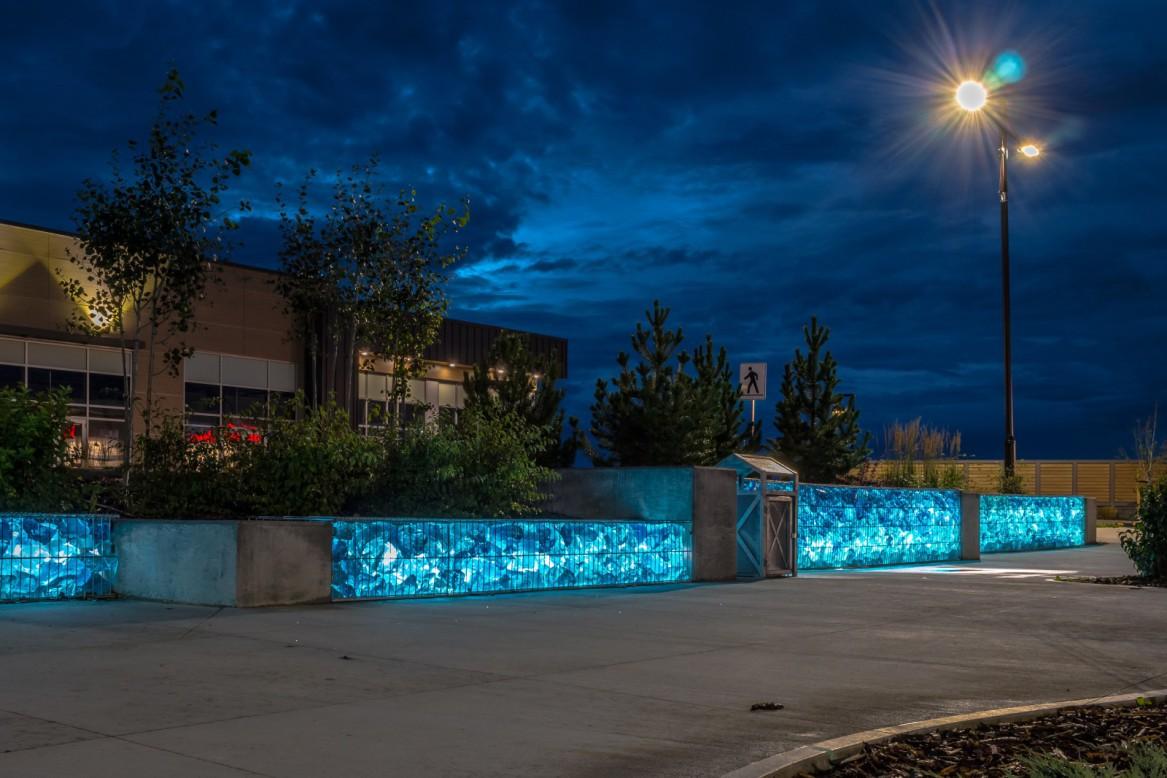 Photo: Omega II Fence Systems