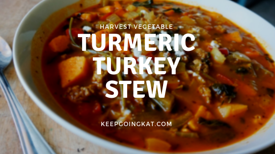 Turmeric Turkey Stew