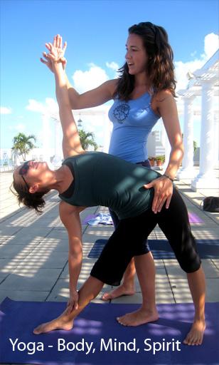 8 days of kiting pleasure = 1 hour of yoga pain!