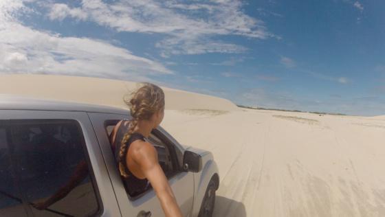 sandune driving